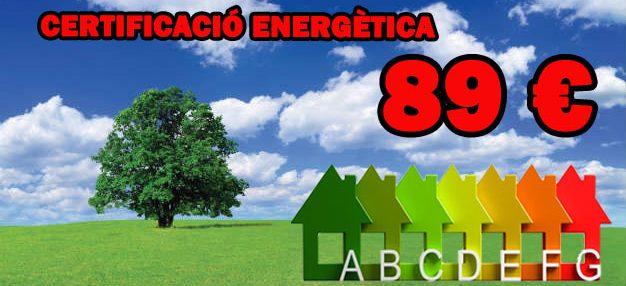 Certificació energètica barata